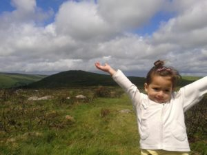 Dartmoor With Lola