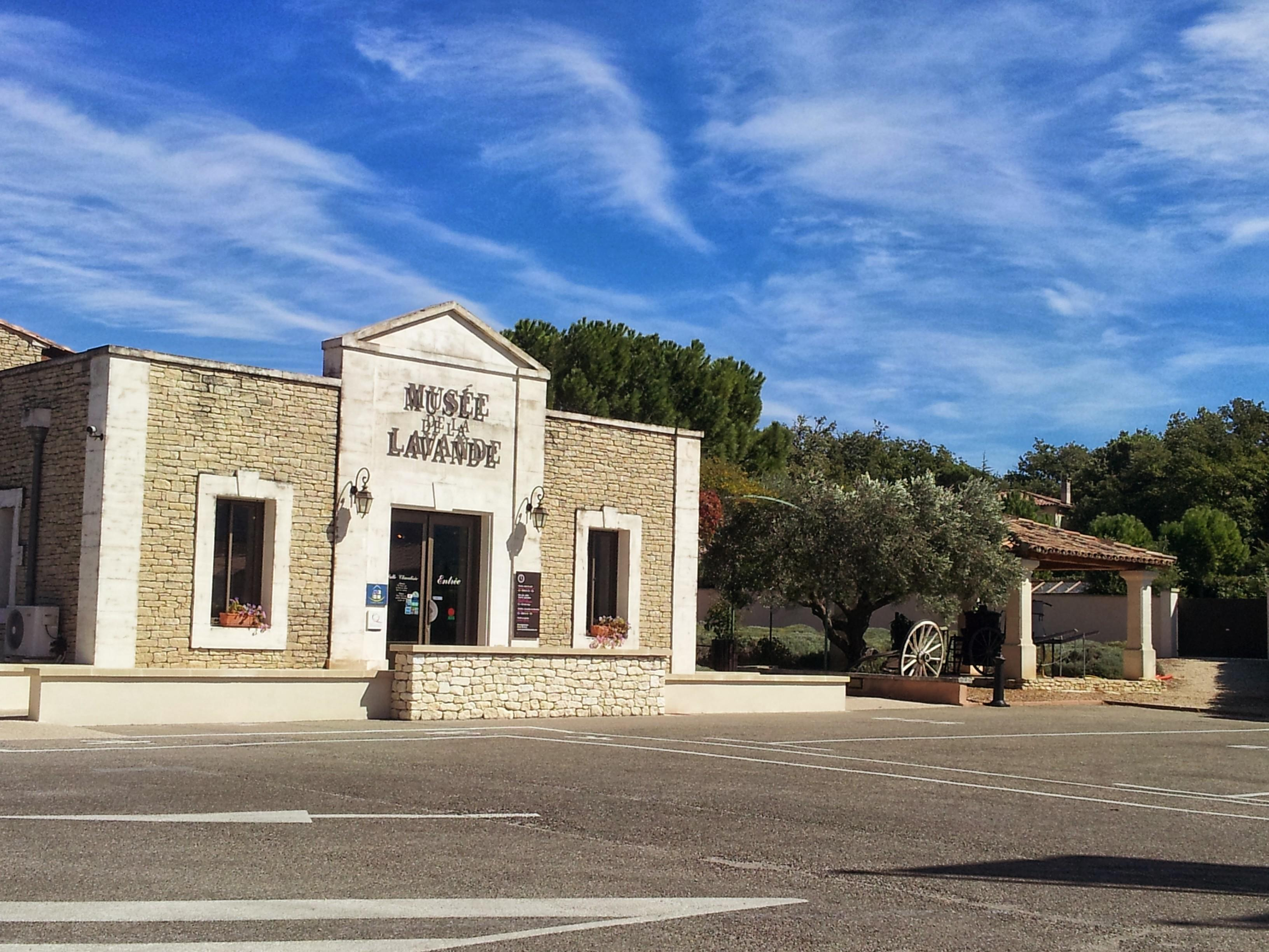 Lavender museum in Coustellet Provence